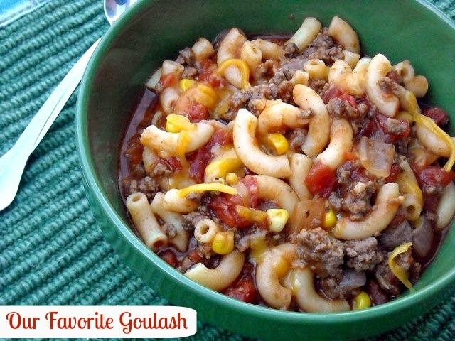 Mommy's Kitchen - Old Fashioned & Country Style Cooking: Bobby's Favorite Goulash {Now Our Favorite}