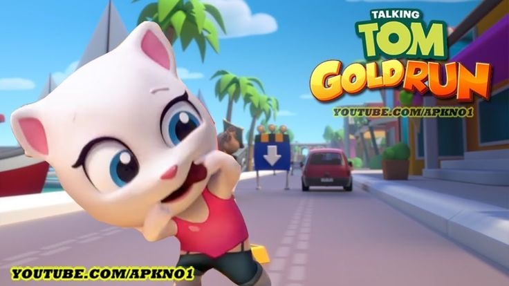 talking tom and friends Gold run gameplay 2018