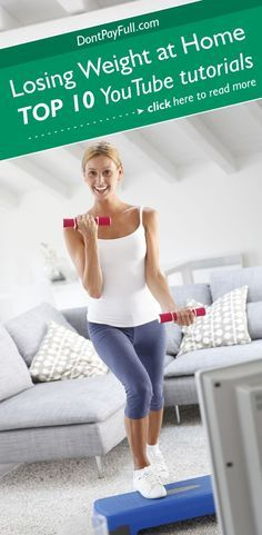Losing Weight at Home: Top 10 YouTube Tutorials #DontPayFull