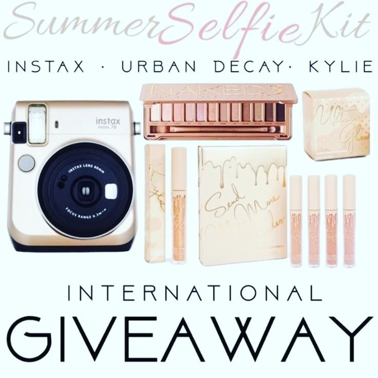 GIVEAWAY: Win an Instax Camera, Urban Decay & Kylie Cosmetics - or CASH ! RT! #GIVEAWAY: #Win an Instax Camera, #UrbanDecay & #KylieCosmetics –or CASH! #wincash #contest #intaxcamera #makeup #beauty #winmakeup #sweeps OPEN WORLDWIDE!!  http://mystylespot.net/giveaway-win-instax-camera-urban-decay-kylie-cosmetics-cash/