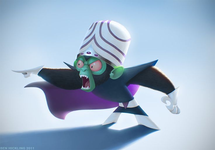 Mojo Jojo by =BenHickling on deviantART