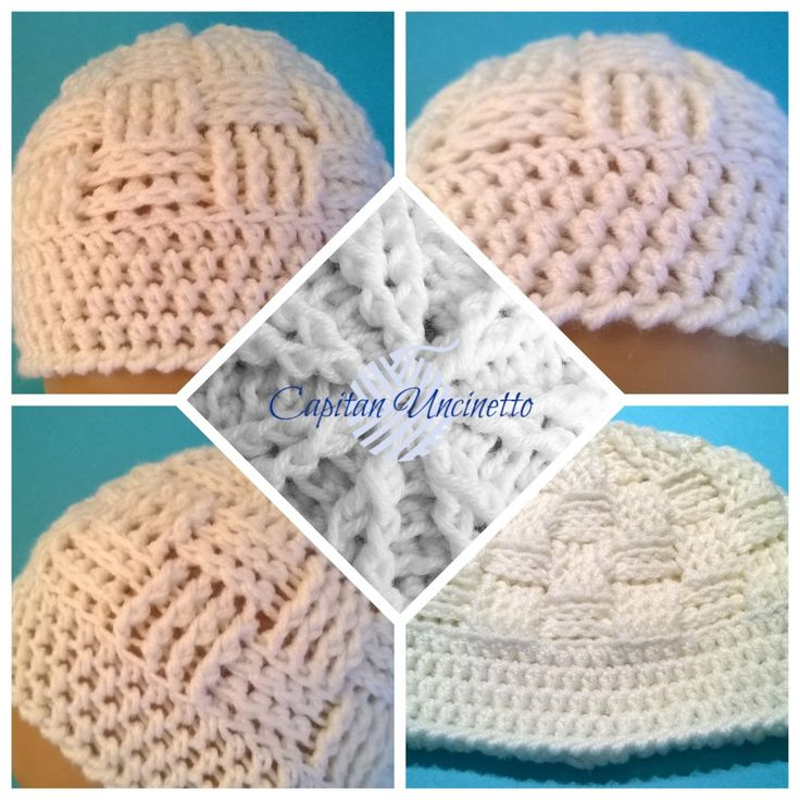 Cuffietta bianca 100% lana merinos. Per info: capitan.uncinetto1@gmail.com