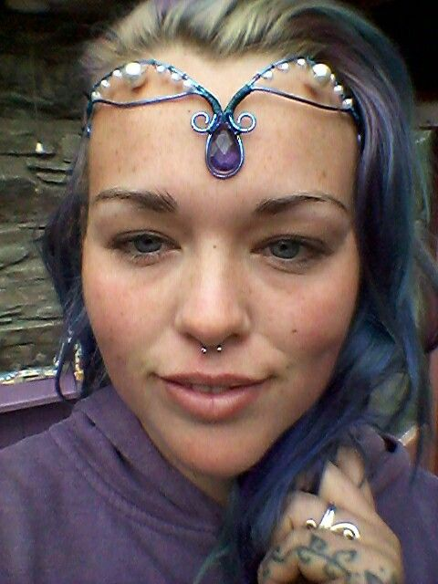 Fairy head piece by katys krafts.  €15