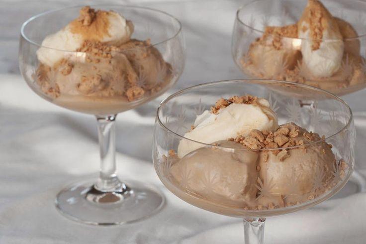 Super makkelijk koffie-ijs van Nigella Lawson (zonder ijsmachine) - huistuinenkeukenvertier.blogspot.de !