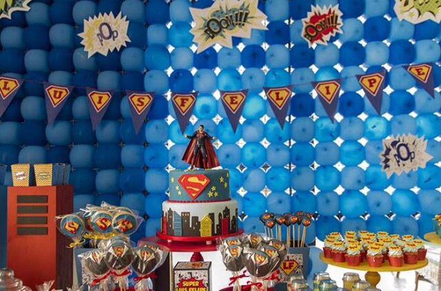 Superman Doğum Günü Partisi