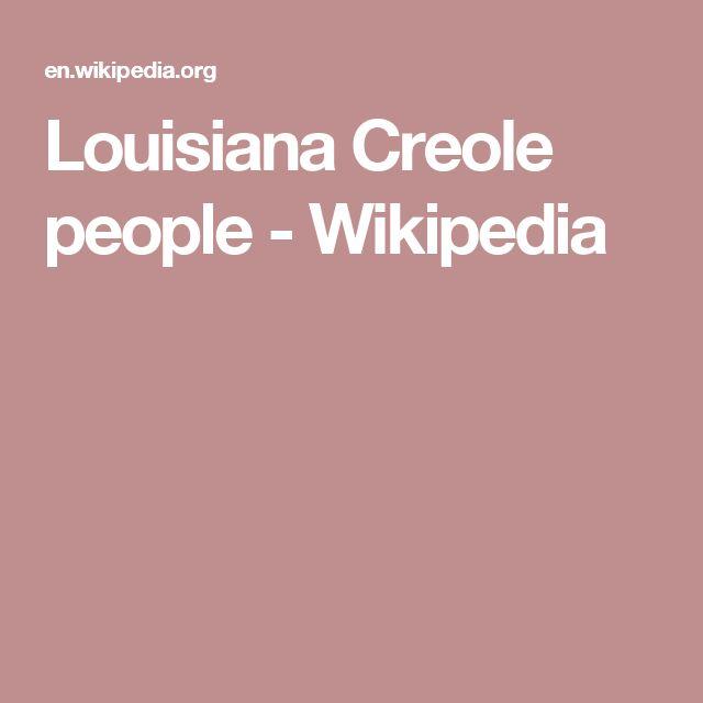 Creole peoples  Wikipedia