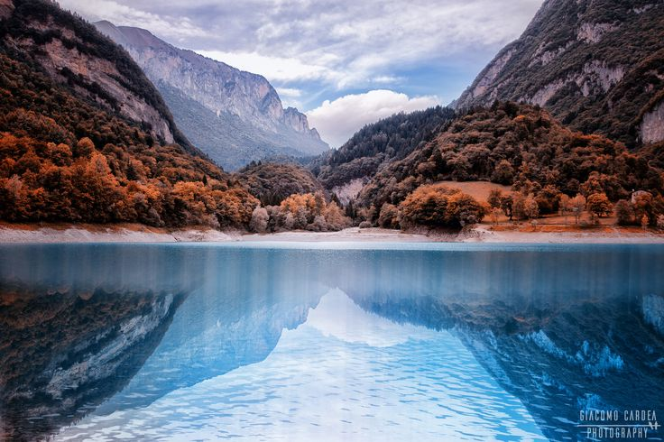 Lago di Tenno - Lago di Tenno in autunno
