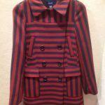 Faconnable, Manteau rouge & marine | www.troc-choc.com