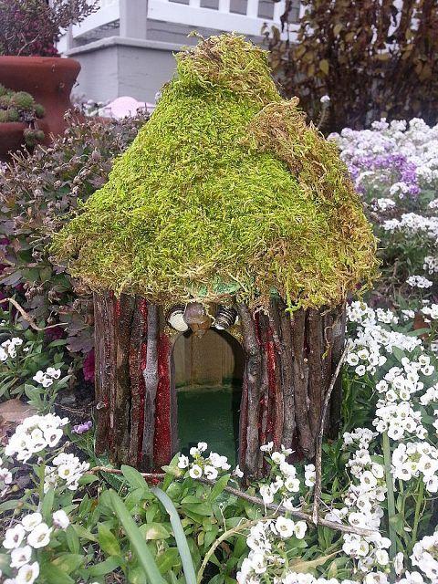 Hometalk :: Home Made Fairie Houses
