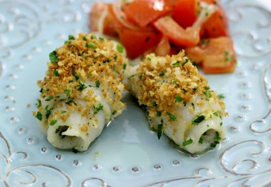 Baked sole fillets with herbs and bread crumbs bread for Great fish recipes