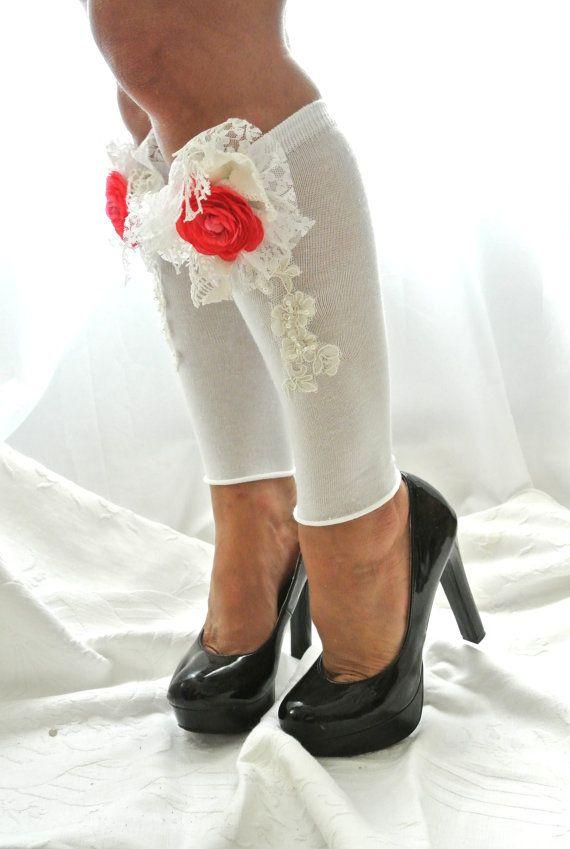 boot socks with heels