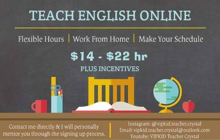 Hi! I'm VIPKID Teacher Crystal  Not only has this home career changed my life but I know that I'm changing the life of thousands of children. ____________ JOIN TODAY!  Want to join and become a VIPKID teacher today?  Link to apply is below & in bio.  ____________  Earn up to $22 an hr!  Flexible Hours!  Work from Home!  Travel & Work!  Make your Hours!  ____________ (Yes this is my FULL TIME career.)  How many can say they travel to China every day?  Contact me directly & I will personally…