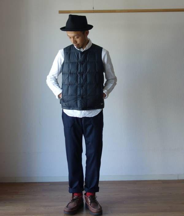 グッドデザイン&高機能、フィデリティのインナーダウン【FIDERITY】 : comoda-明石の小さな洋服屋-
