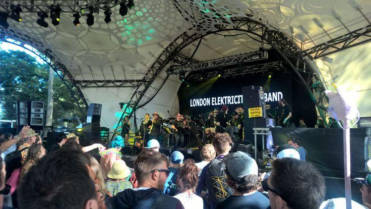 London Elektricity Big  Band - Glastonbury Festival 2017.