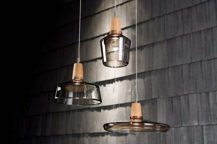 Seria lamp Industrial niemieckiej marki Dreizehngrad - Salon - Styl Minimalistyczny - Pufa Design