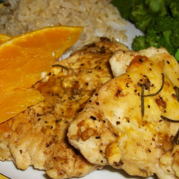 Orange Rosemary Chicken Breasts | Food I have actually made :-) | Pin ...