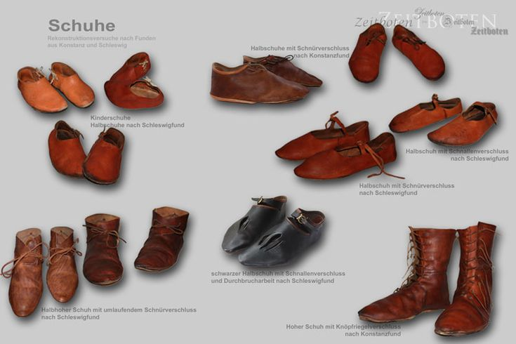 Schuhe Übersicht