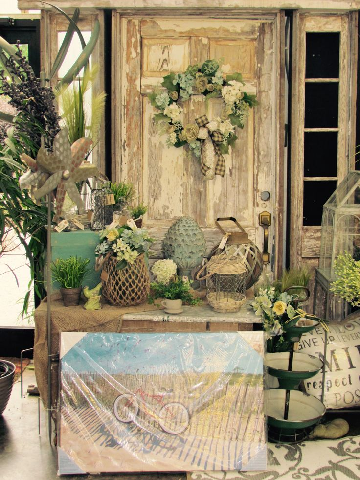 Shabby Chic Beach Decor With Hydrangeas Scenes Around