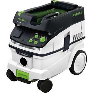 *CLICK TO ENLARGE* Festool CLEANTEC CTM 26 E AC Wet & Dry M Class Dust Extractor (26 Litres)
