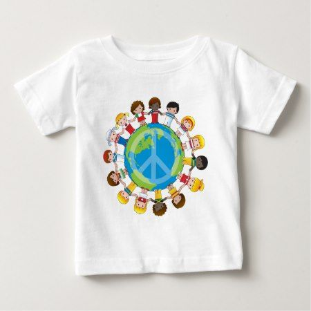 Global Children Baby T-Shirt - click/tap to personalize and buy