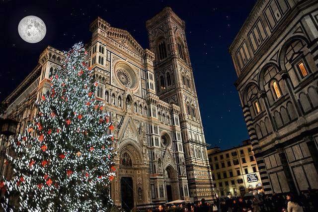 Albero di Natale a Firenze