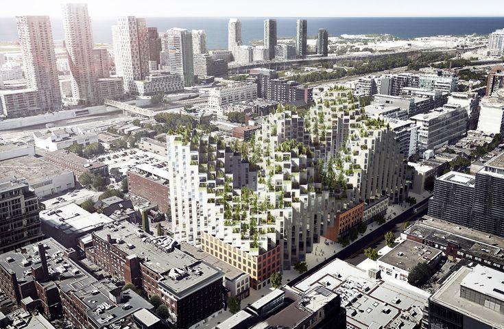 Gallery of BIG Designs Moshe Safdie-Inspired Habitat for Toronto - 6