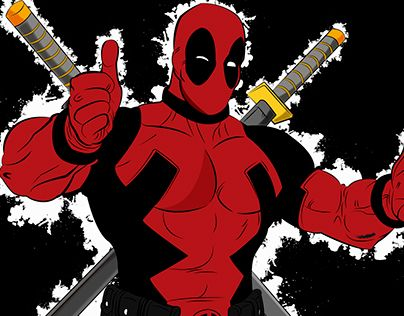 "Check out new work on my @Behance portfolio: ""DeadPool"" http://be.net/gallery/33821628/DeadPool"