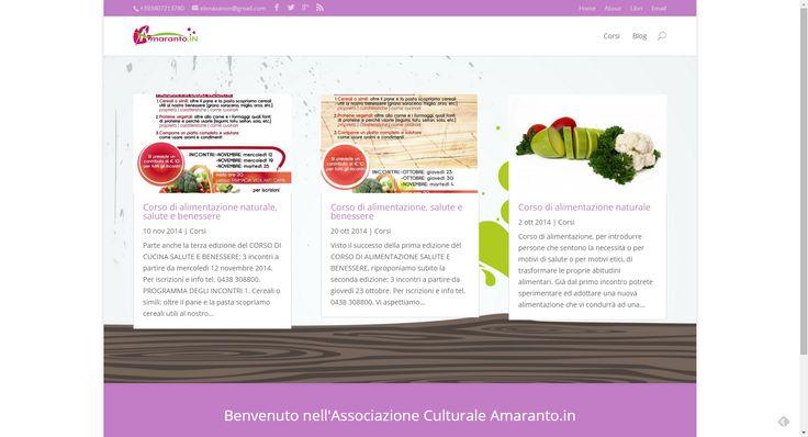 Amaranto | Associazione Culturale sito web http://www.associazioneamaranto.it