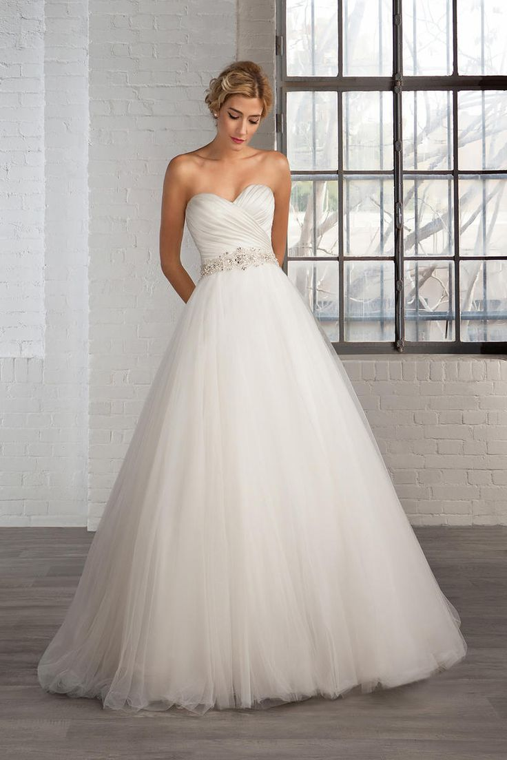 90 besten Wedding Dresses Bilder auf Pinterest | Brautkleider ...