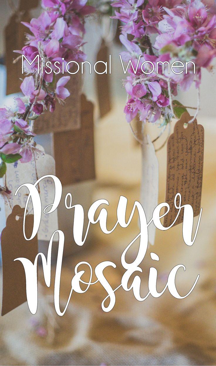 Missional Women Prayer Mosaic
