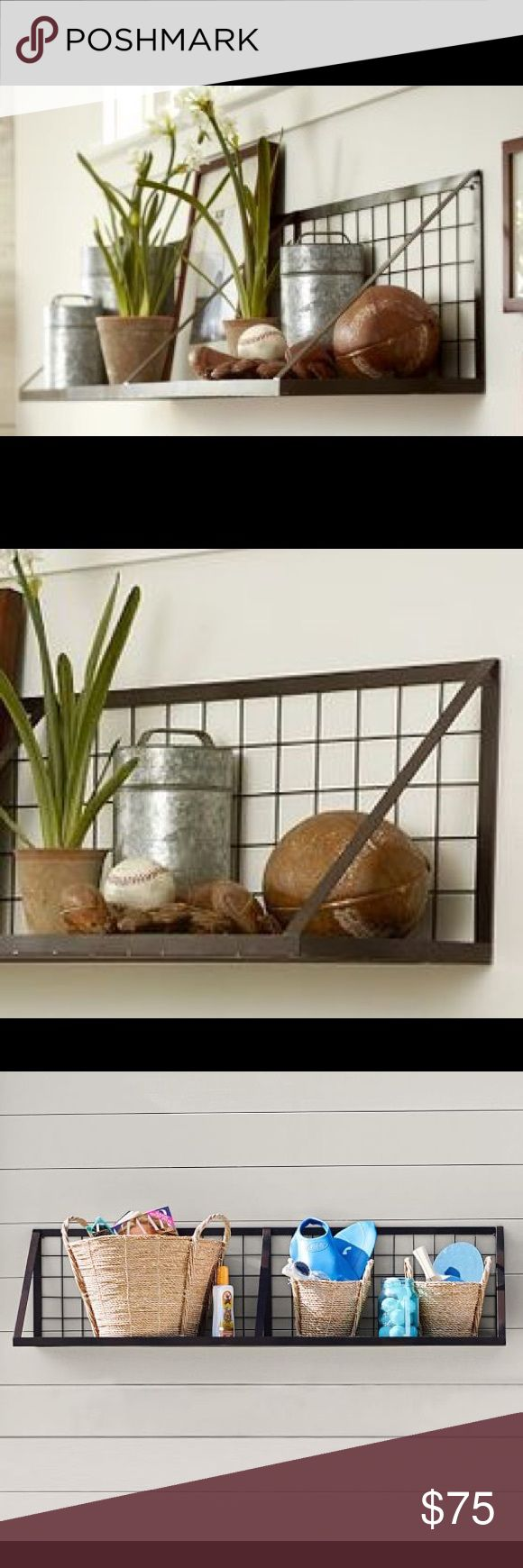 Pottery Barn wall Shelf Kellan wall mount shelf from Potter Barn.  No longer available in stores. pottery barn Other