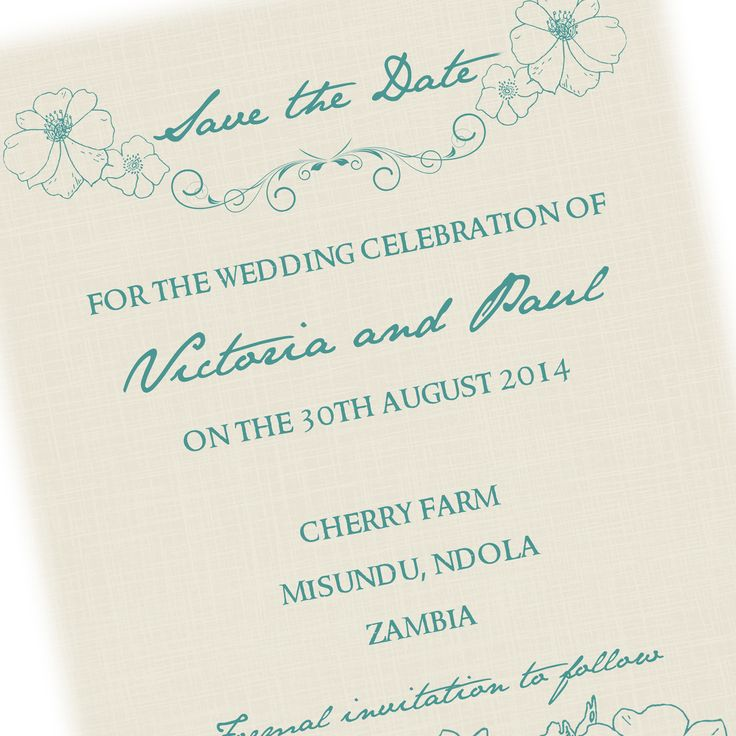 Teal and Stone wedding