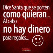 Dice Santa que