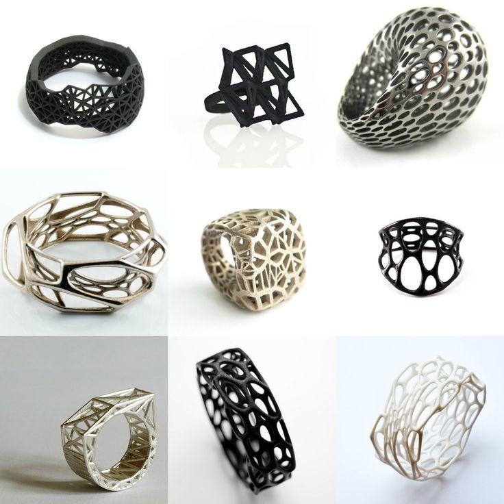3D printing can enhance the productivity and efficiency of jewelry companies.There are two ways to create 3D printed jewelry where you can enhance the productivity of your company.