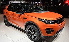 Land Rover Discovery Sport Showcased at Paris Motor Show