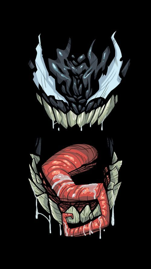 Artistic Venom Wallpaper For 5 Inch Smartphones Awesomeness