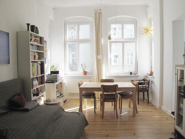 Schönes helles Wohn-/Schlafzimmer. #Wohnzimmer #Schlafzimmer #Einrichtung