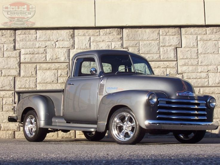 `51 Chevy 5 window cab truck