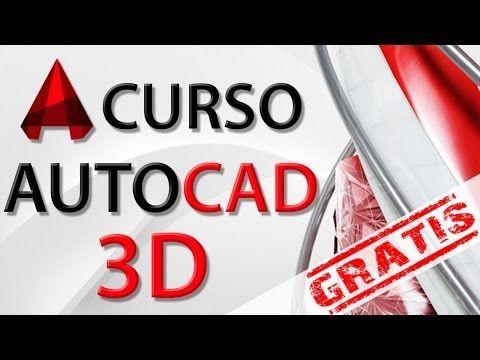 Curso Autocad 3D - Capitulo 1, Iniciando 3D con Extrude - YouTube                                                                                                                                                                                 Más