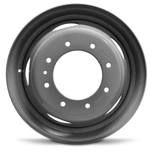 19 5 Grey Replacement Wheel Fits 99 03 Ford F450 F550 19 5x6 8x225 136mm Roadready Wheel Rims Steel Wheels Ford Super Duty