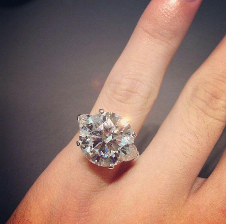 Graff Diamond Ring Instagram Sparkly Pinterest