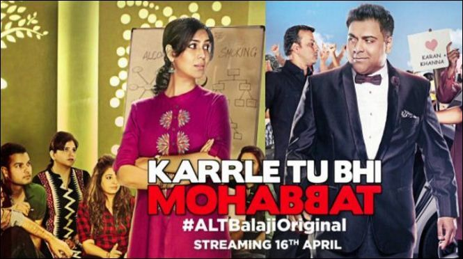 Ram Kapoor and Sakshi Tanwar are back together this time as they will seen on Ekta Kapoor's web series named Karrle Tu Bhi Mohabbat from 16th April.