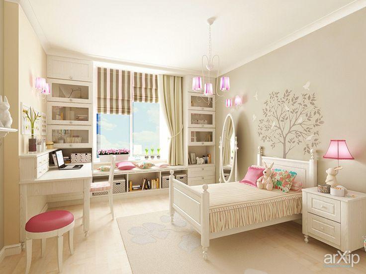 Домик для кроликов: интерьер, квартира, дом, детская комната, французский, прованс, 10 - 20 м2 #interiordesign #apartment #house #nursery #french #provence #10_20m2 arXip.com