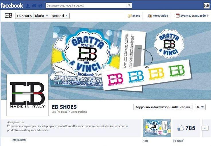 Acquista una scarpina EB SHOES e partecipa al nostro concorso #Gratta e #Vinci!!! Vai sulla pagina facebook e scopri se hai vinto!  Buy a shoe EB and participate in our contest #Scratch & #Win! Go to the facebook page and see if you have won!  Acheter un EB de chaussures et de participer à notre concours #Scratch et Gagner! Accédez à la page facebook et voir si vous avez gagné!
