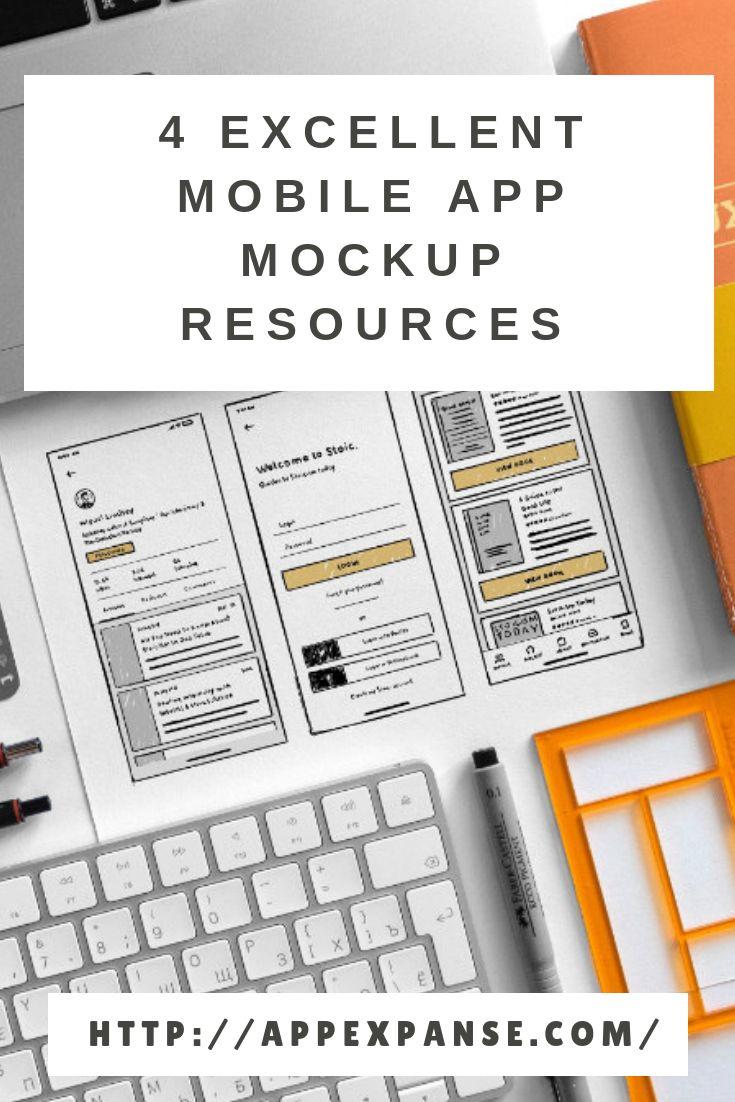 4 Excellent Mobile App Mockup Resources
