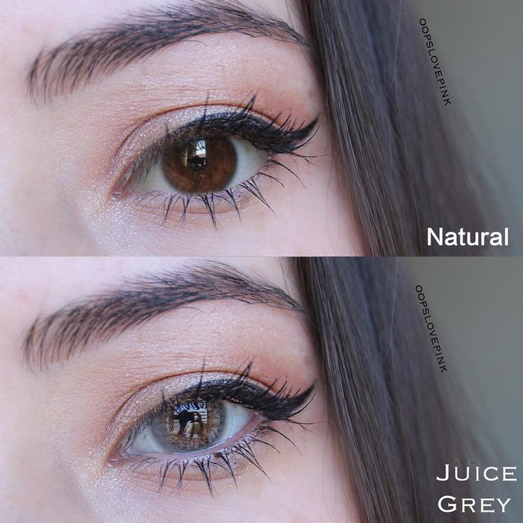 TTDeye Juice Grey Colored Contact Lenses in 2020 Contact