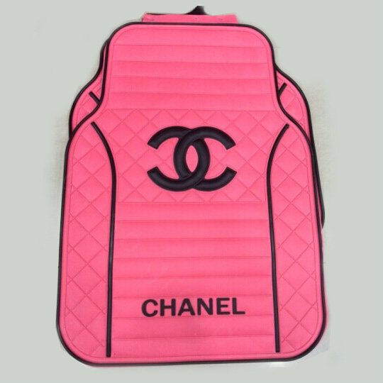 Buy Wholesale High Quality Chanel Universal Auto Carpet Car Floor Mats Rubber 5pcs Sets - Pink Black from Chinese Wholesaler - hibay.gd.cn