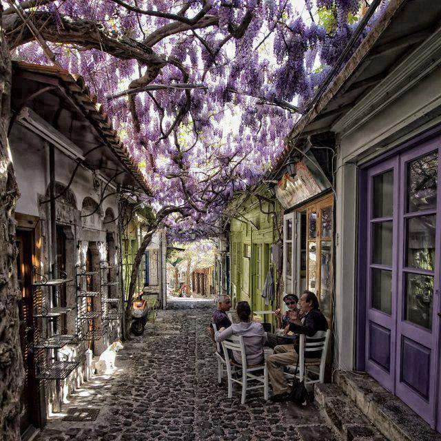Mithymna(Molyvos),Isola di Lesbo,Egeo Settentrionale,Grecia ©Ph.Ris.