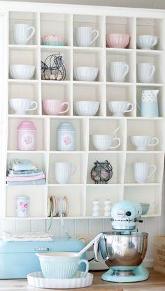 Open Shelf, Ice Blue Kitchenaid