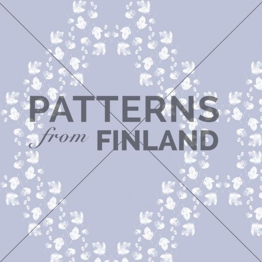 Leaves – Leaves' Play by Sari Taipale   #patternsfromfinland #saritaipale #pattern #surfacedesign #finnishdesign
